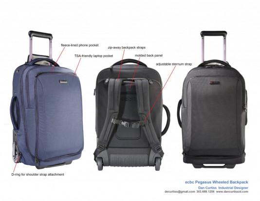 Luxury men's small bag design