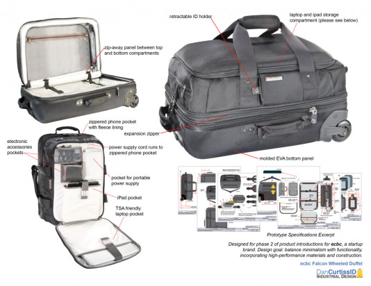 Design for Luggage and Travel Bags