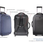 Wheeled carry-on backpack design