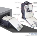 Wheeled carry-on design for security