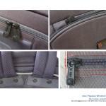 Wheeled backpack design details