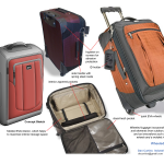 Ballistic wheeled luggage design