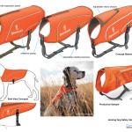 Hunting dog safety vest