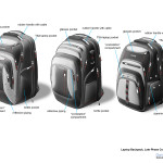 Laptop backpack concepts